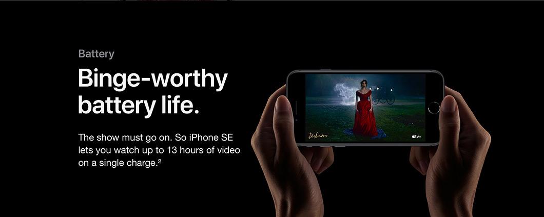 Binge-worthy battery life.