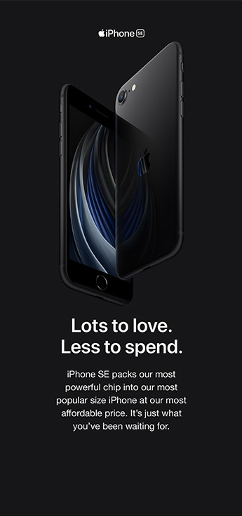Lots to love. Less to spend.