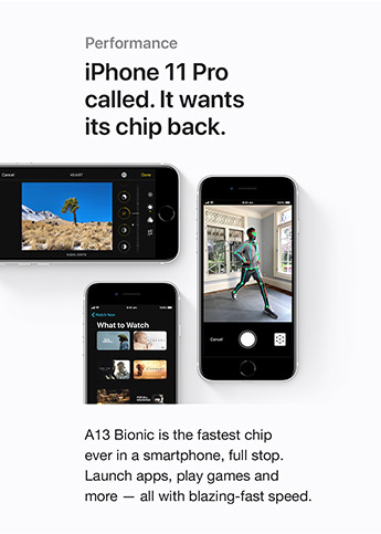 iPhone 11 Pro called. It wants its chip back.