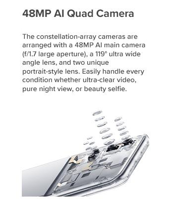 48MP AI Quad Camera
