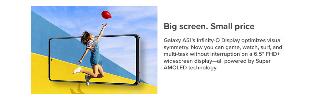 Big screen. Small price.