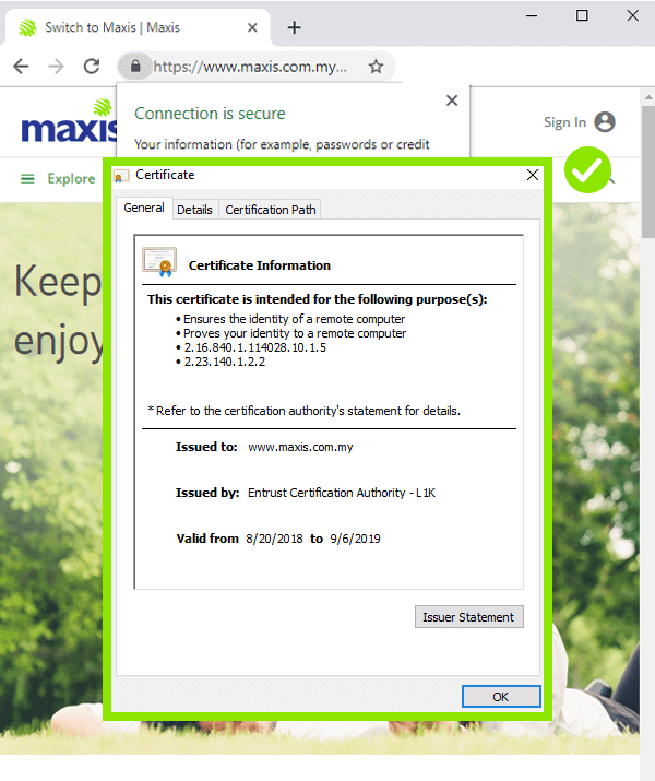 maxis phising and scam protection 3