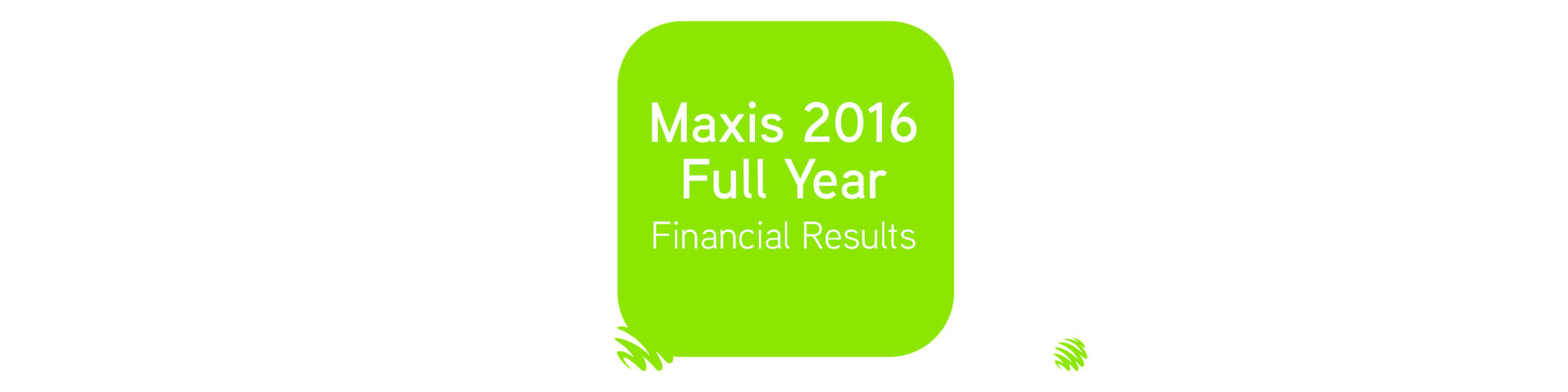 maxis 2016 financial result