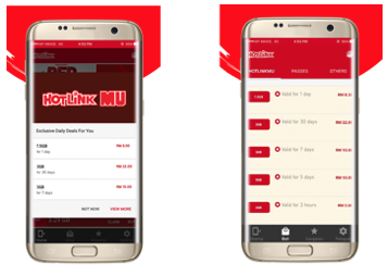 Download hotlink red app