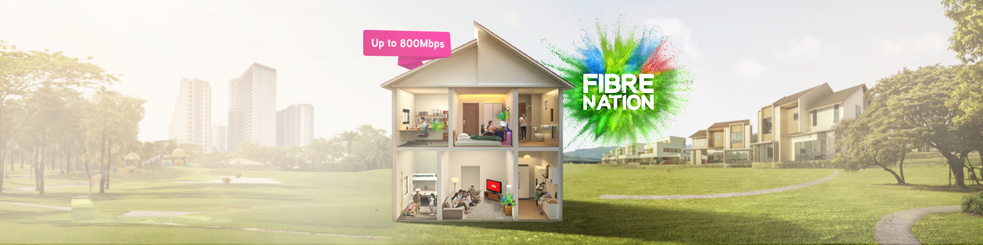 Maxis Fibrenation elevates fibre experience with new superfast speed packages and 1st ever mesh WiFi devices