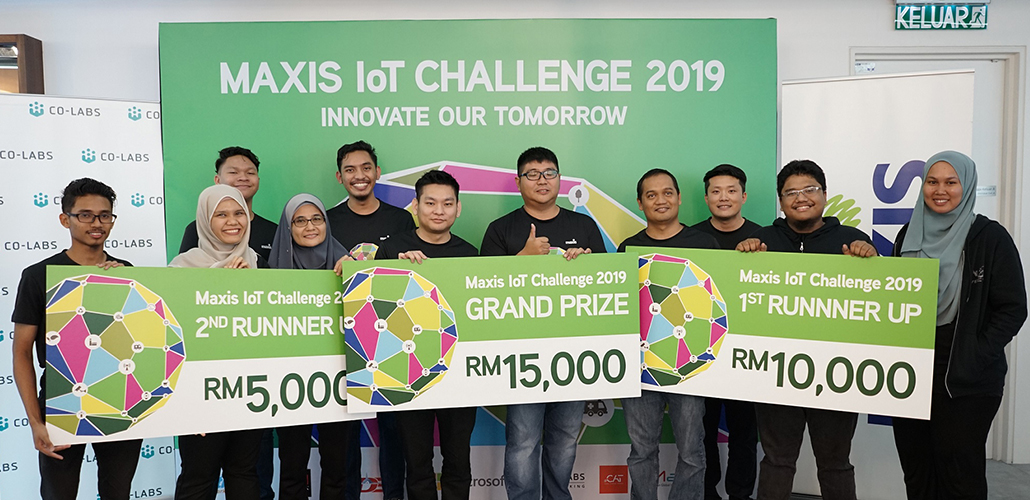 Maxis IoT Challenge inspires innovative and forward-thinking Malaysians