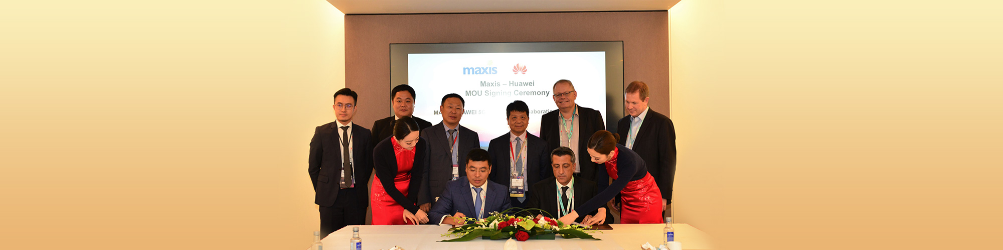 Maxis And Huawei Sign MoU On 5G Acceleration Program