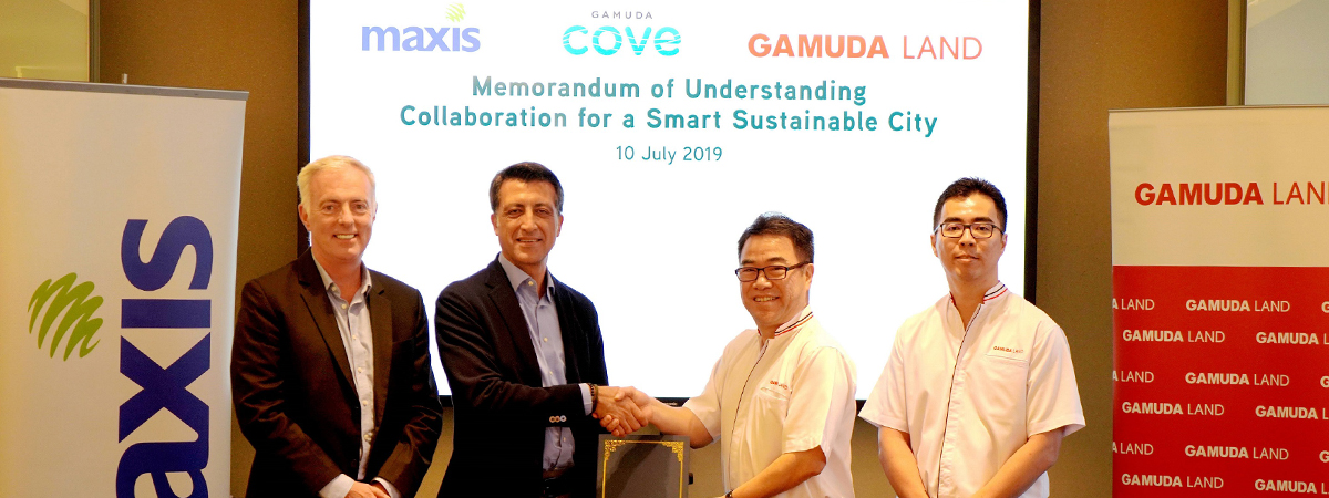 Gamuda Land and Maxis Collaborate for Nation's First Maxis-delivered 5G Township towards a Smart Sustainable City