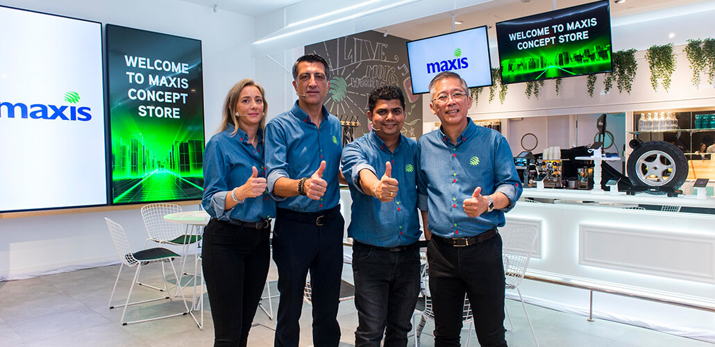Maxis' first-of-its-kind concept store in Malaysia embodies new vision and convergence growth strategy