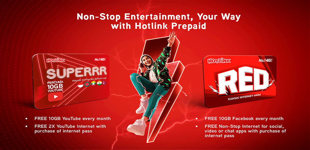 Hotlink Non-stop Entertainment