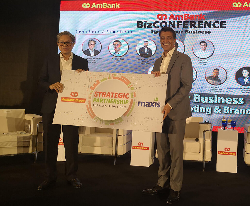 AmBank and Maxis collaborate to launch joint financial and digital solutions initiatives for SMEs