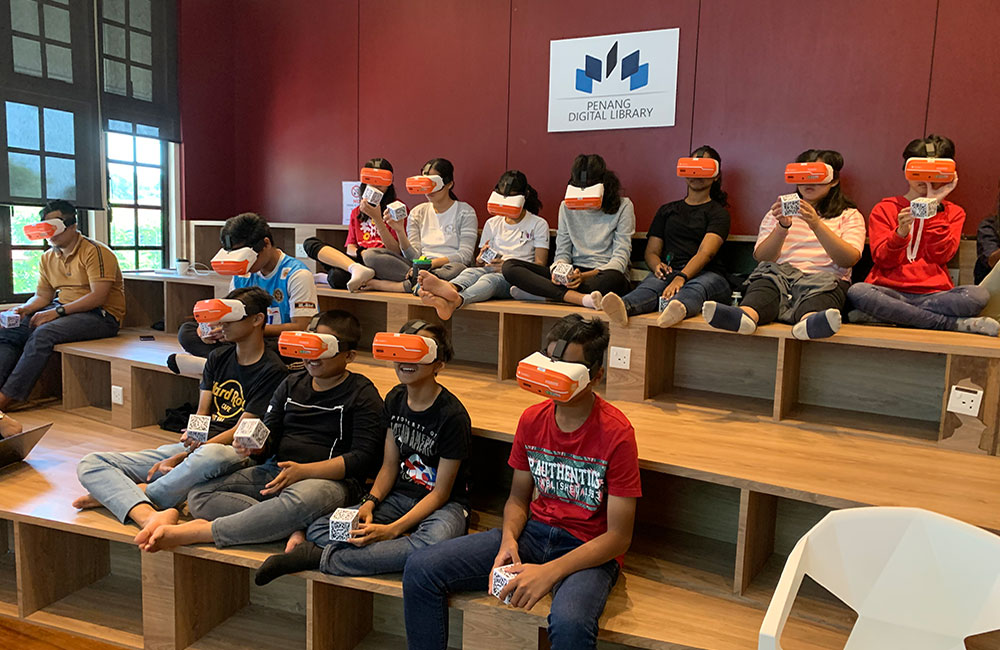 Maxis eKelas - Penang Virtual Reality