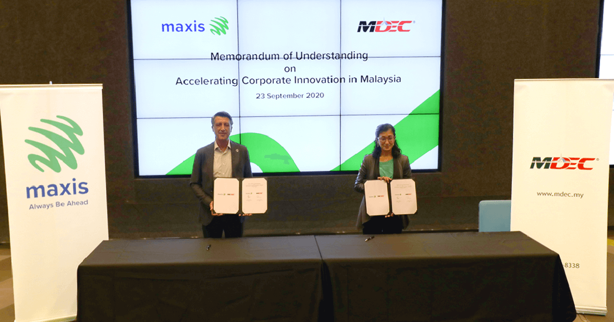 Maxis and MDEC collaborate