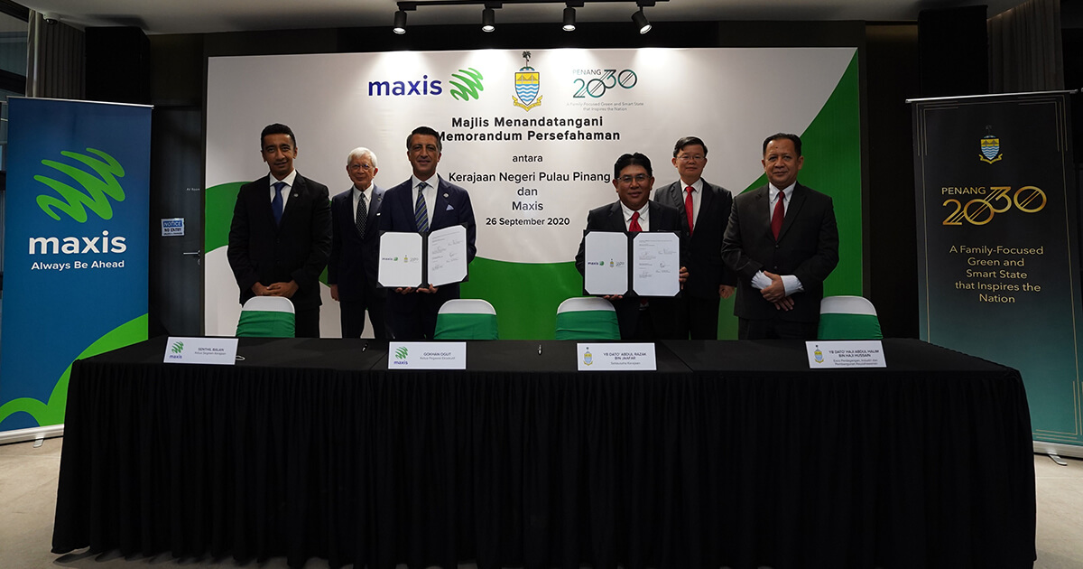 Maxis is Penang's Trusted Technology Partner for Smart State ambitions
