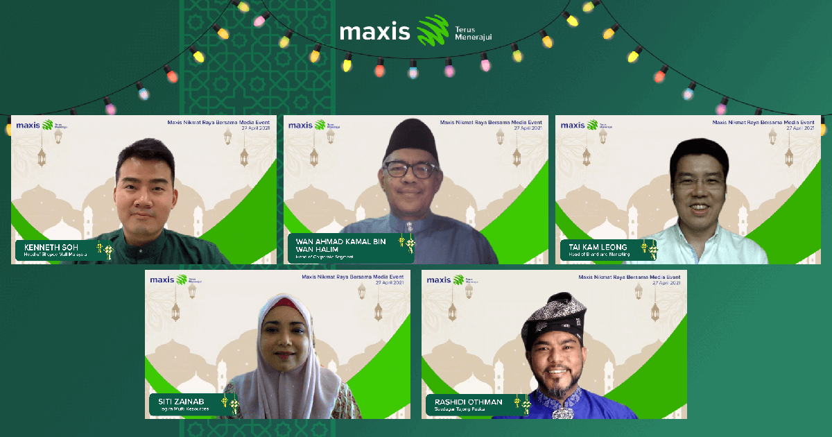 Maxis launches first shoppable Raya film in Malaysia, using technology to support SMEs this festive season