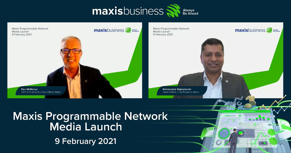 Maxis Programmable Network brings new era of enterprise-grade connectivity and performance