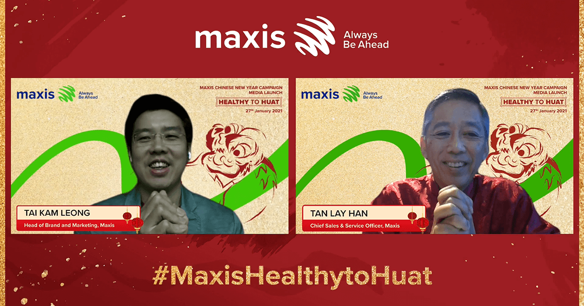 Maxis inspires Malaysian families to celebrate health as a blessing this CNY