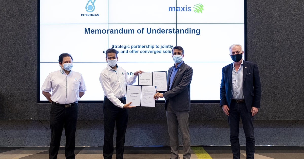 PETRONAS Dagangan partners with Maxis on big data analytics and converged solutions