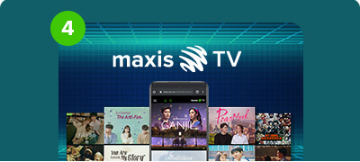 Watch it all now on Maxis TV