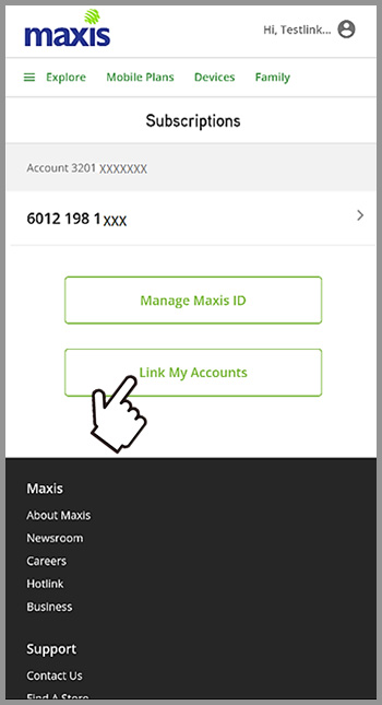 Step 3 -Link Account